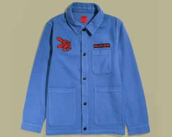 Killer Acid Work All Day Blue Work Jacket