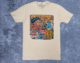 X-ray Vision Killer Acid T-shirt
