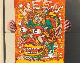 WEEN Poster, Chicago, Halloween Official