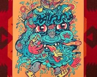 Ocean Man 12x16 Print