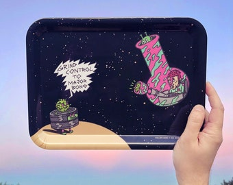 Odd Space Rolling Tray