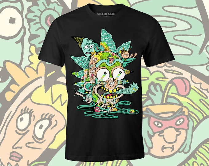 Featured listing image: Killer Acid x Rick and Morty Official T-shirt