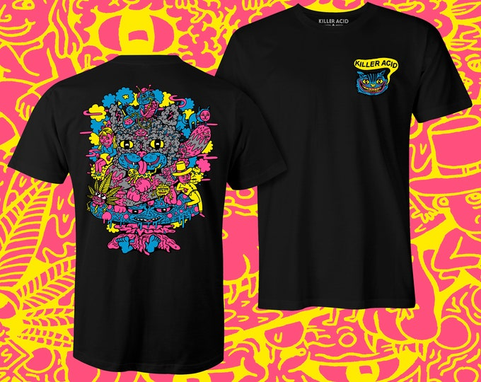 Featured listing image: Cheshire OG Blacklight T-Shirt