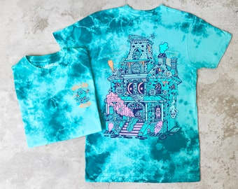 Spook House Tahiti Blue Wash T-shirt