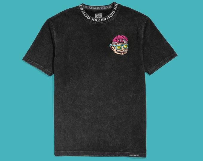 Featured listing image: Killer Acid Flip Your Lid Black Mineral Wash T-Shirt