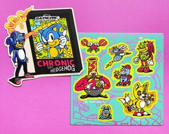 Chronic and Friends Sticker Set