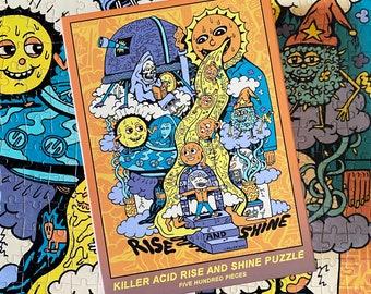 Rise and Shine, Killer Acid 500 Piece Puzzle