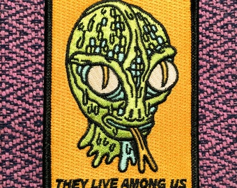 They Live Among Us Patch