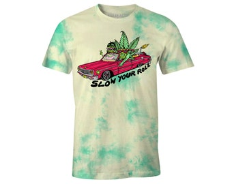 Slow Your Roll Crystal Wash T-Shirt