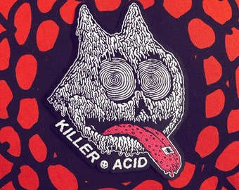 Killer Acid iron-on patch