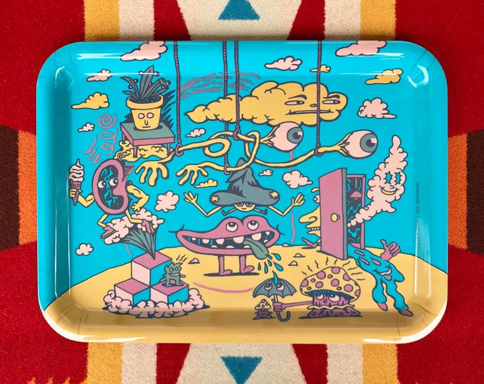 Featured listing image: Head in the Clouds Rolling Tray