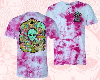 No Bad Trips Crystal Wash Tshirt