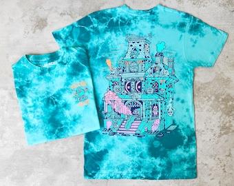 Spook House Tahiti Blue Wash T-shirt