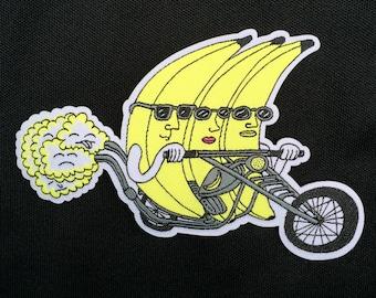 Banana Riders Patch