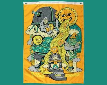 Rise and Shine Killer Acid 40 x 30 inch banner