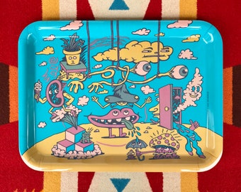 Head in the Clouds Rolling Tray