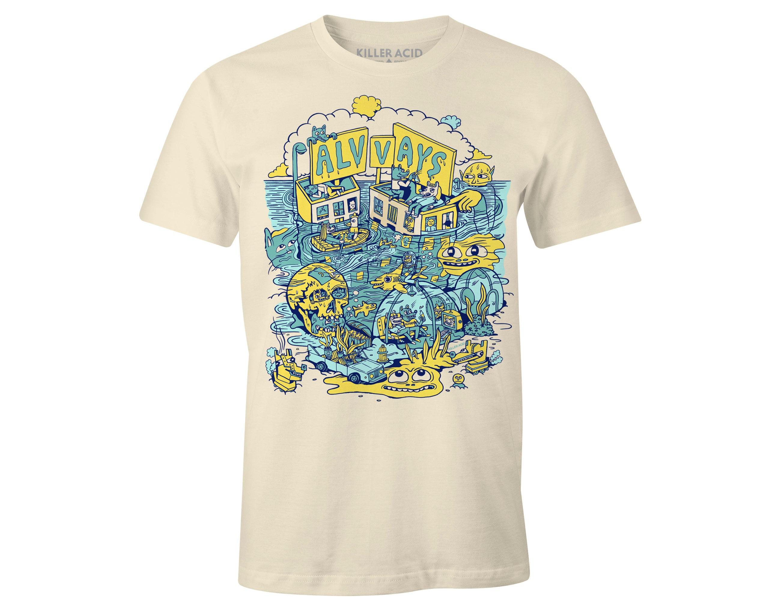 14a0e9c2f645 Alvvays Tour T-shirt