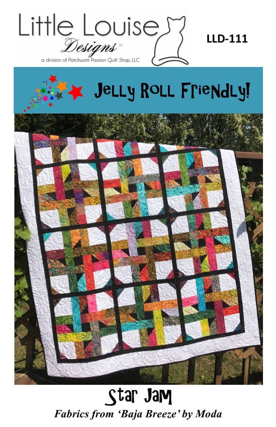 Daisy40 Two From One Jelly Roll Quilt Impressive Batik Jelly Roll