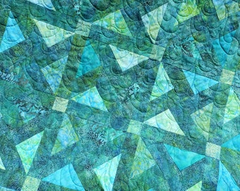 Quilt Pattern - Well Springs - With Bonus Pattern made from the Scraps! Hard Copy Version -  FREE SHIPPING!!