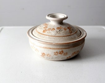 vintage Judy Jones studio pottery tureen