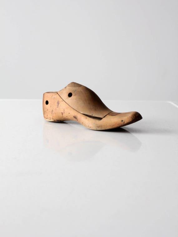 ancienne forme de chaussure, forme de chaussures en bois, bois, bois, forme de pied de cordonnier bois | Matériaux De Grande Qualité  c1869f