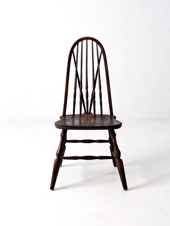image 0 - Chittenden And Eastman Bow Back Dining Chair Antique Windsor Etsy
