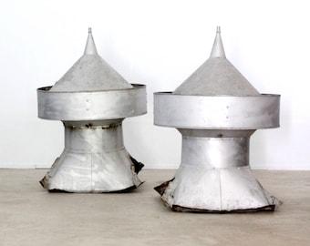 antique barn cupolas set of 2