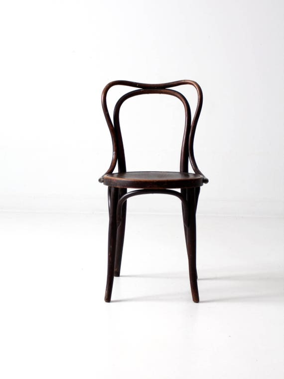 image 0 - Jacob & Josef Kohn Bentwood Chair Antique Pressed Seat Chair Etsy