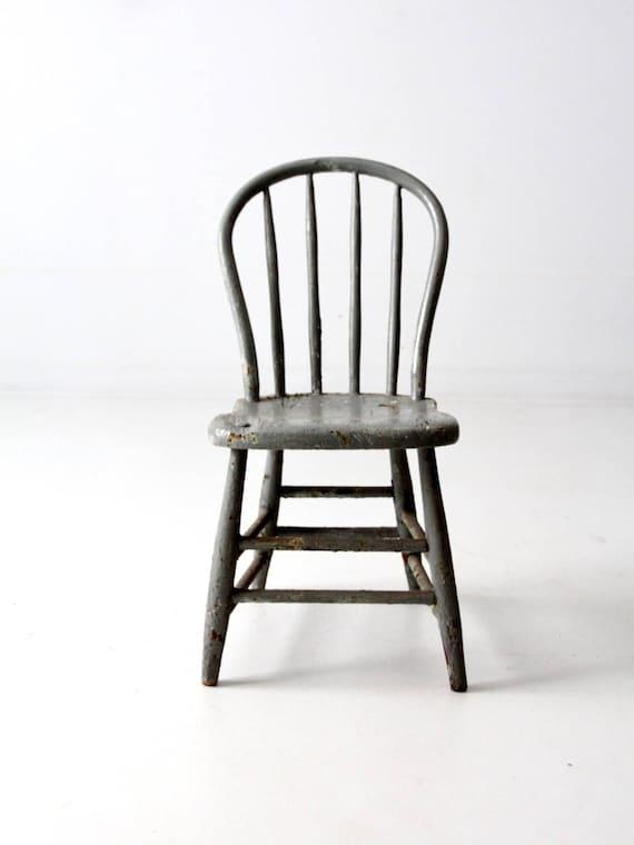 image 0 - Primitive Chair Antique Farmhouse Spindle Back Chair Windsor Etsy