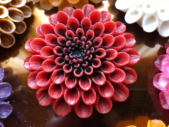 Dahlia Flower Soap