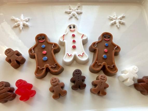 Gingerbread Man Soap Set Gingerbread People Christmas Soap