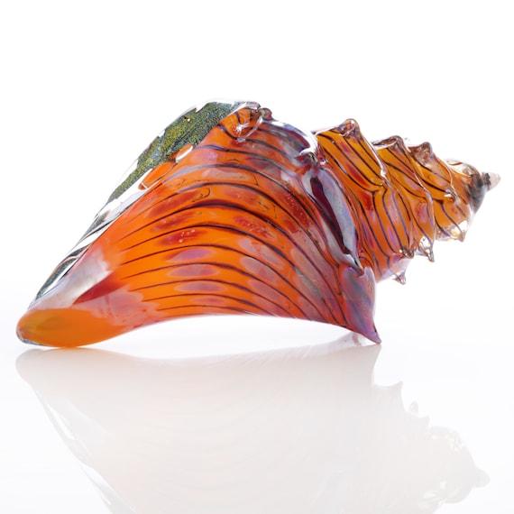4872c08c03b9 Coral Sea Shell hand blown
