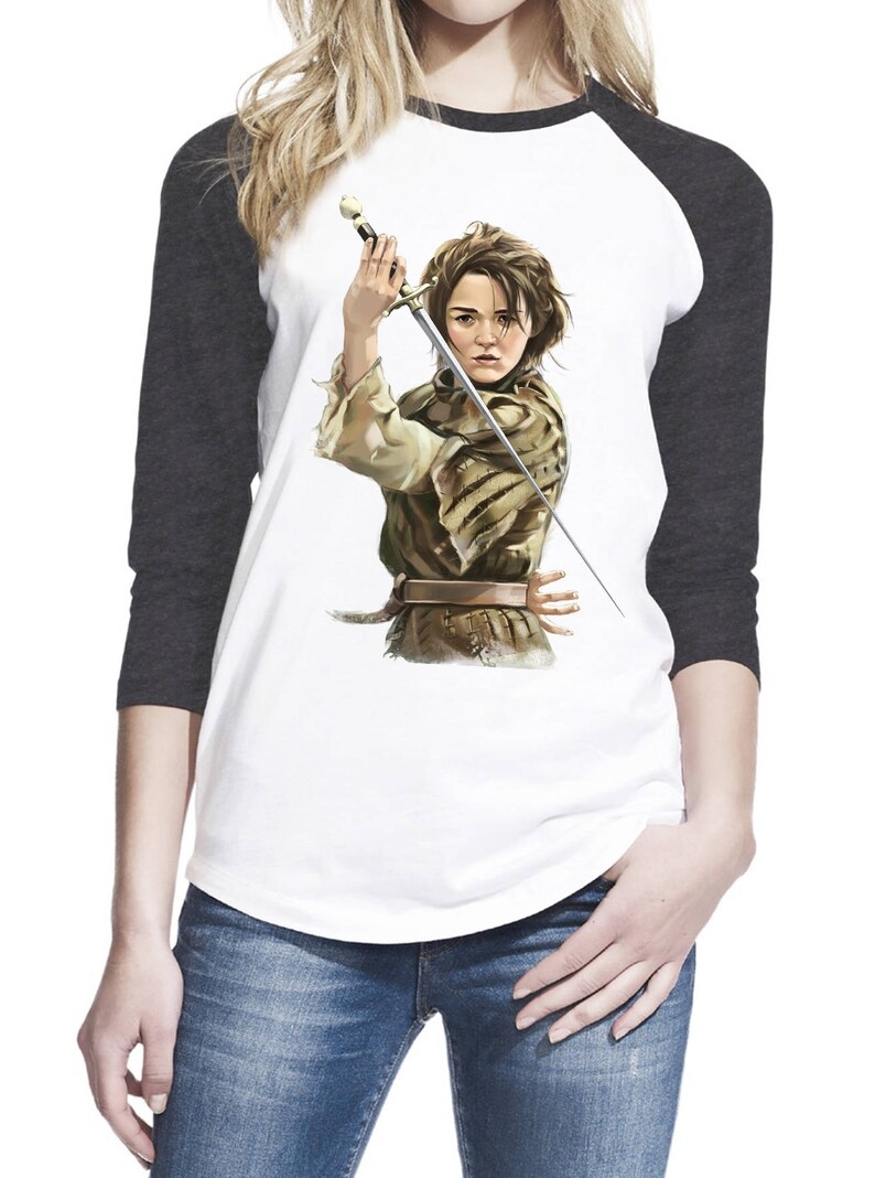 b9a2684cd Arya Stark with Needle Sword A Girl Has No Name Not Today | Etsy
