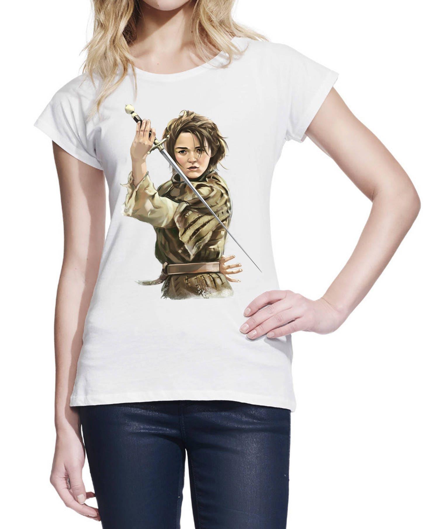 1260e587d Arya Stark with Needle Sword A Girl Has No Name House | Etsy
