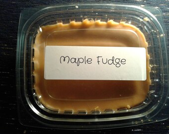 8 oz. Maple Fudge