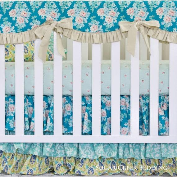 decorative boho accent unique pretty patchwork 16x16.htm pixie crib 3pc set bedding boho crib bedding farmhouse crib etsy  3pc set bedding boho crib bedding