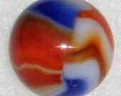 Peltier Liberty Marble, National Line Rainbo, 21 32 quot , Wet-Mint, Free USA Shipping