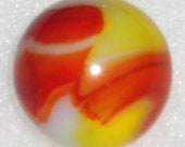 Peltier Ketchup Mustard, NLR National Line Rainbo, .690 quot Antique Marble, Free USA Shipping