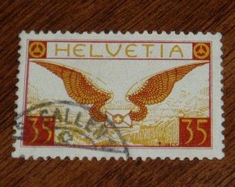 Switzerland Air Mail Stamp, C13, 1920s, Sale 46% Off