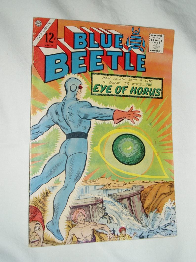 Comic Book Blue Beetle 54 Feb-Mar 1966 Fine image 1