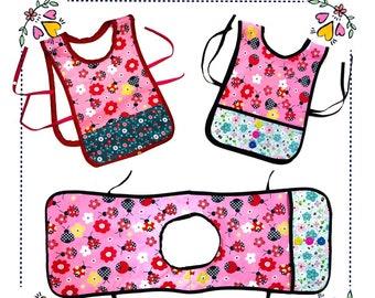 Art Smock Pattern | Childs Apron Pattern | Apron Template | Apron Designs | Digital Download | Digital Pattern
