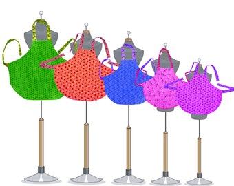 Apron Tutorials | Digital Download | Apron Patterns | Sewing Patterns | Digital Pattern