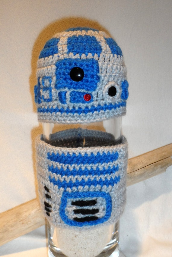 Pattern R2d2 Crochet Hat And Tube Top Etsy