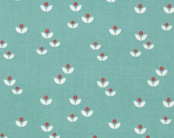 Lewis and Irene. Sam and Mitzi. Dotty Flower on Blue - Choose cut