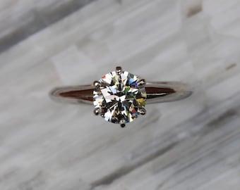Search For Flights Certifié Gia Bague Solitaire Fiançailles 1.50 Carat Forme Coeur Diamant 18k Big Clearance Sale Fine Jewelry