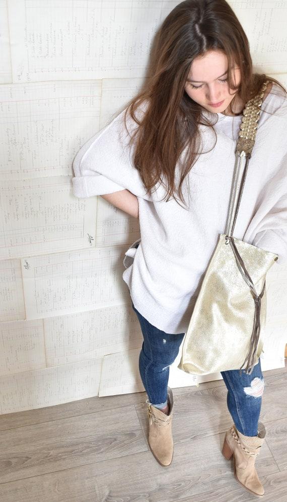 Byloom & Hyde handmade leather bag.