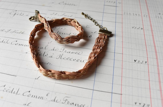 Byloom and Hyde Woven Choker Necklace.