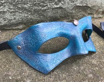 BLUSH Leather Bandit Mask