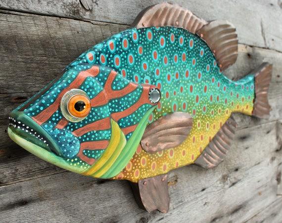 """Large Sunfish Wall Art, 27"""""""