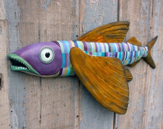 Dolly, Flying Fish Wall Art 26""